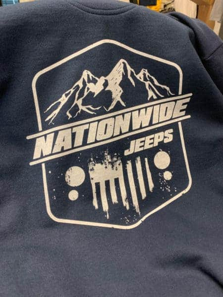 Nationwide Jepps DTG Printed Tee by TAKE4 in Alpharetta, GA