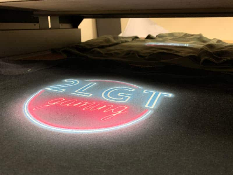 2LGT Gaming DTG Printed Tee by TAKE4 in Alpharetta, GA