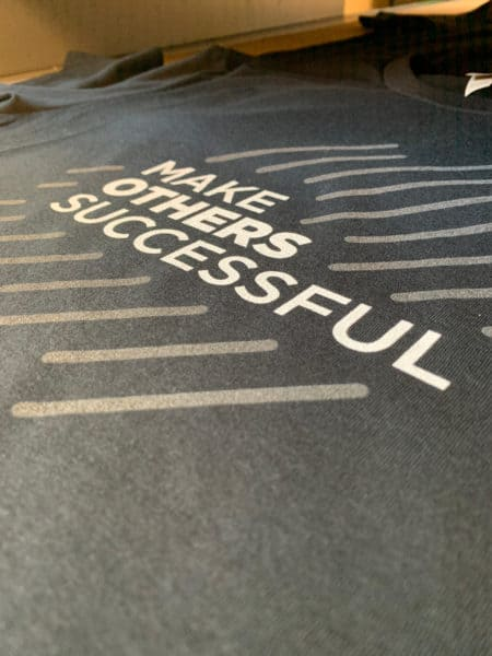 Make Others Successful DTG Printed Tee by TAKE4 in Alpharetta, GA