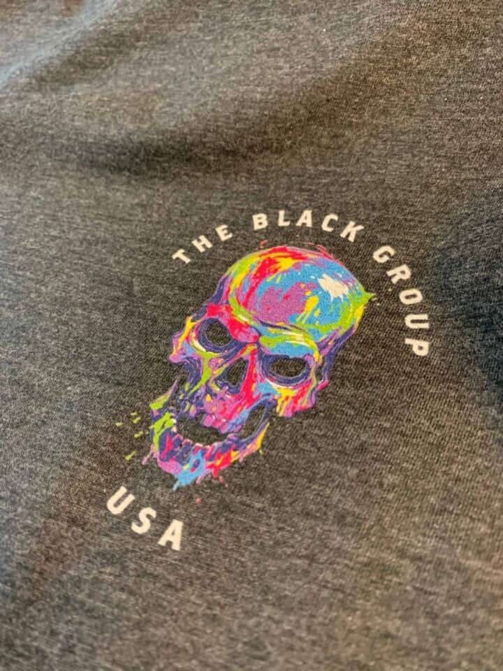The Black Group USA DTG Printed Tee by TAKE4 in Alpharetta, GA