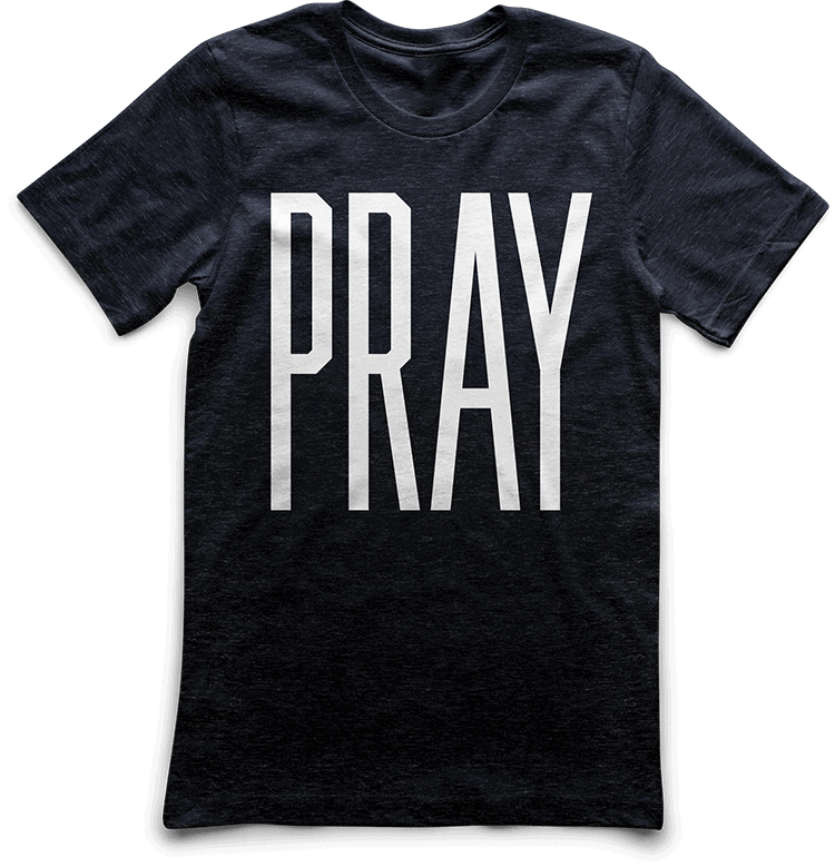 PRAY Custom T-Shirt by TAKE4 in Atlanta, GA