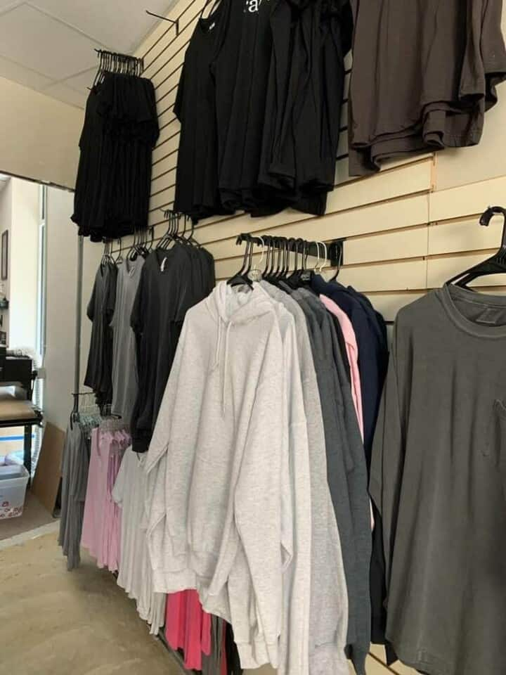 TAKE4 DTG Apparel Inventory in Alpharetta, GA