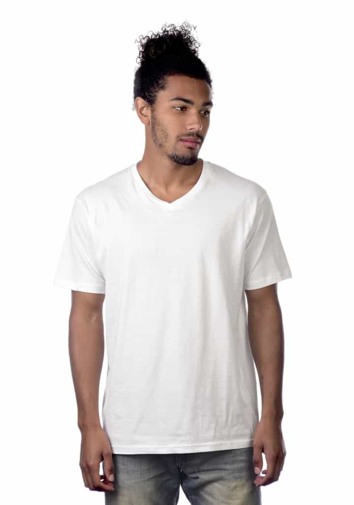 cotton heritage mens v neck tee0