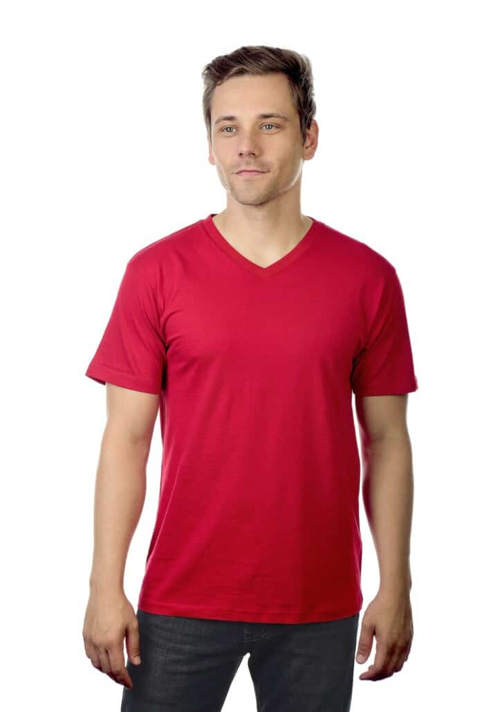 cotton heritage mens v neck tee4